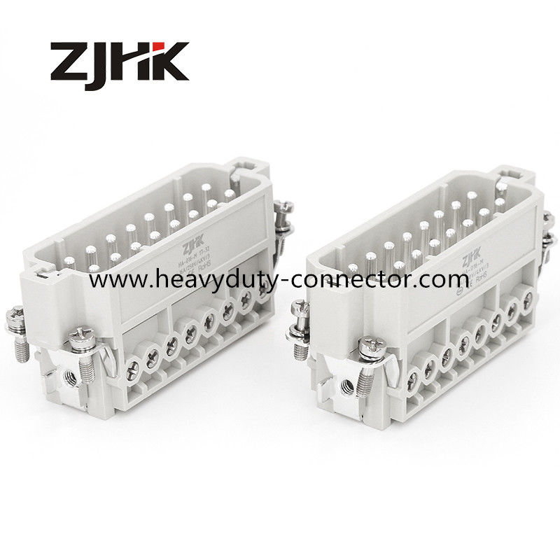 32 Pin Screw Terminal Double 16 Pin Male And Female Connector Heavy Duty Long Life